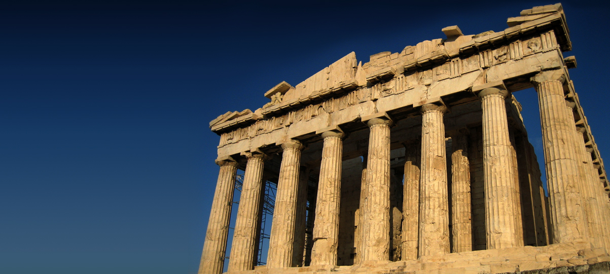 Acropolis, the Greek Parthenon