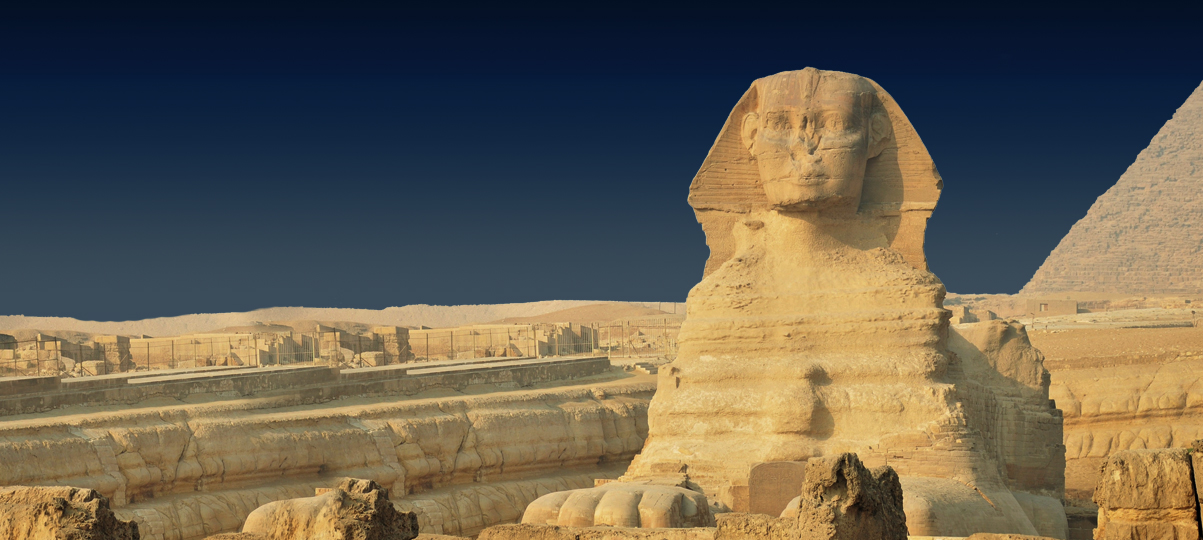 Egypt: Giza Pyramids and Sphinx